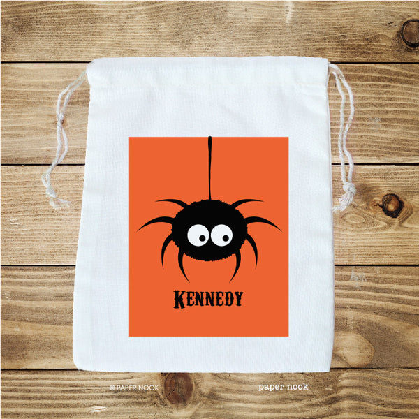 Halloween Spider Favor Bag