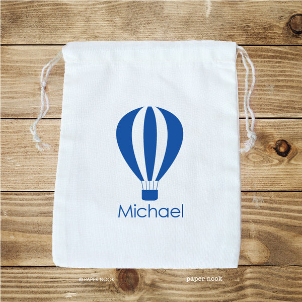 Hot Air Balloon Favor Bag