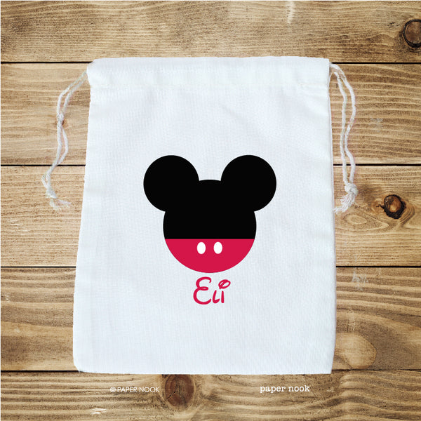 Mickey Inspired Favor Bag