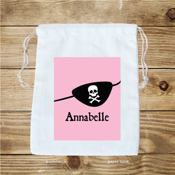 Pirate Patch Favor Bag