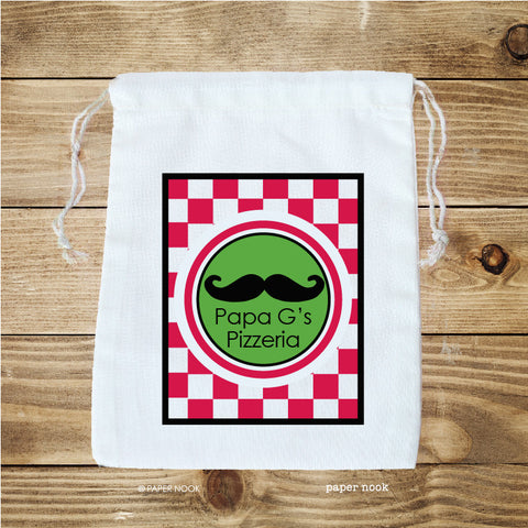 Pizza Party Favor Bag