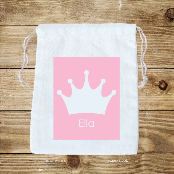 Princess Crown Favor Bag