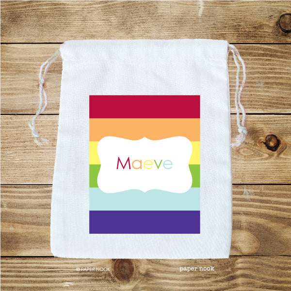Rainbow Favor Bag