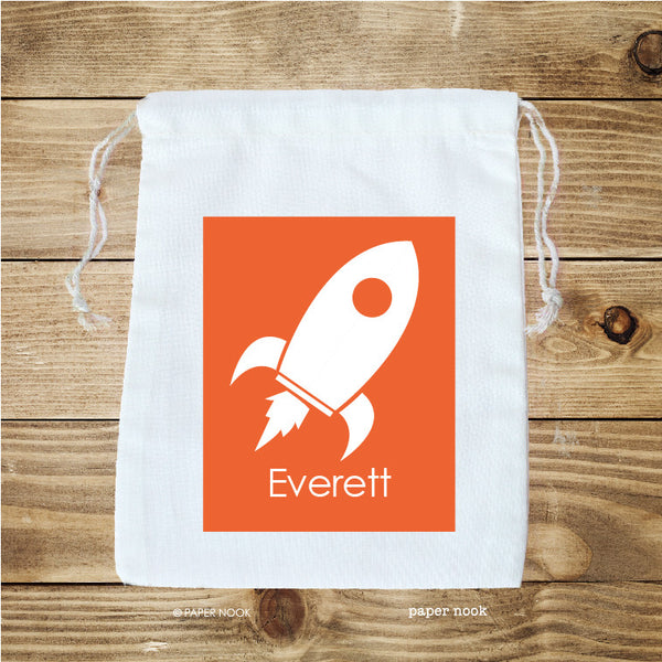 Rocket Favor Bag