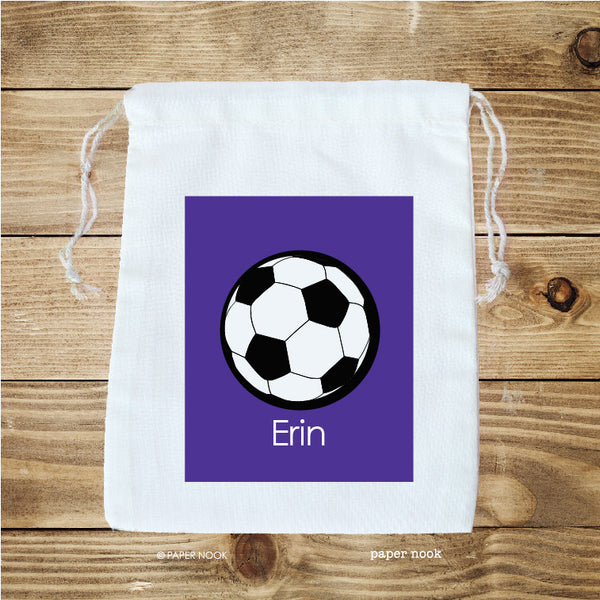 Soccer Favor Bag