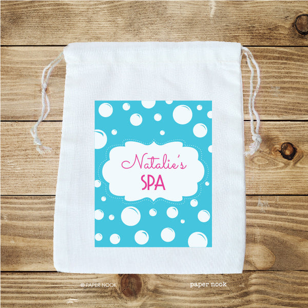 Spa Party Favor Bag
