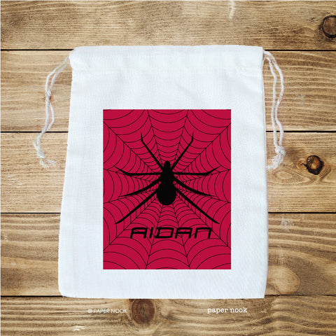 Spiderman Inspired Favor Bag