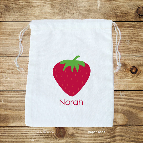 Strawberry Favor Bag