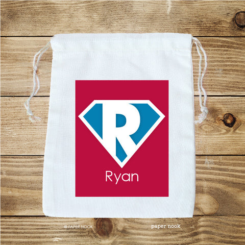 Superhero Favor Bag
