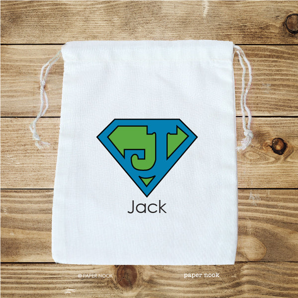 Superman Inspired Favor Bag
