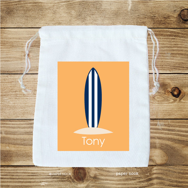 Surfboard Favor Bag