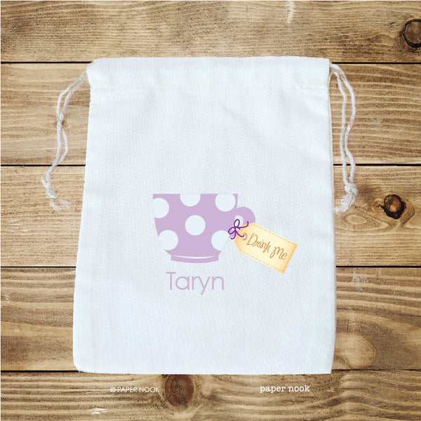 Teacup Favor Bag