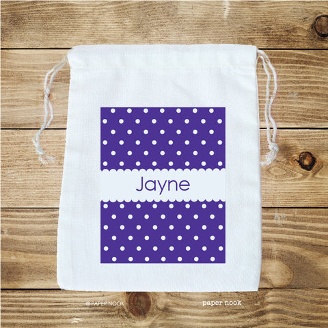 Tiny Dots Favor Bag