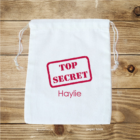 Top Secret Favor Bag