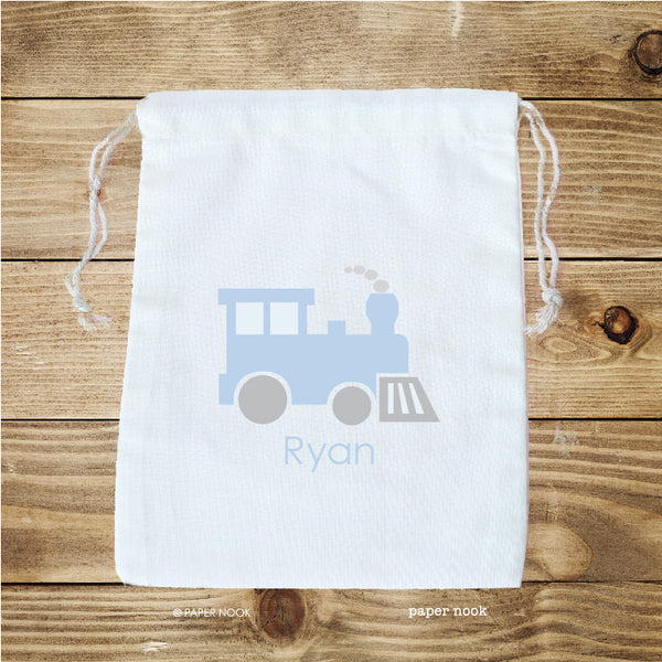 Train Favor Bag