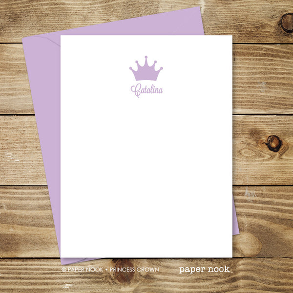 Princess Crown Note Cards