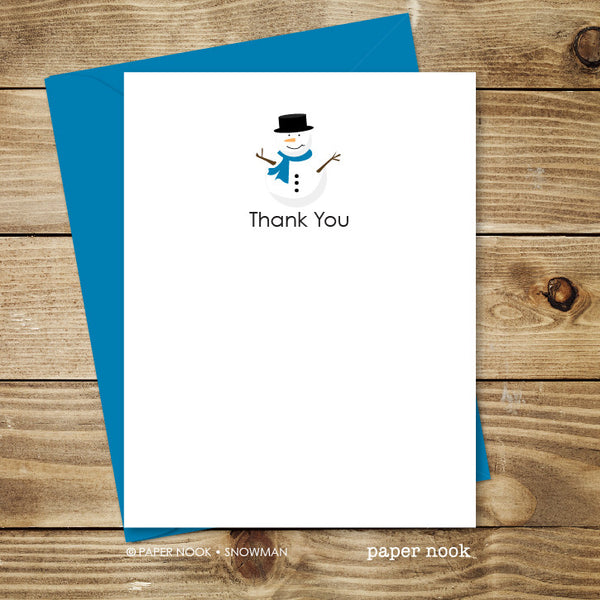 Snowman Note Cards