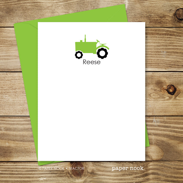 Tractor Note Cards