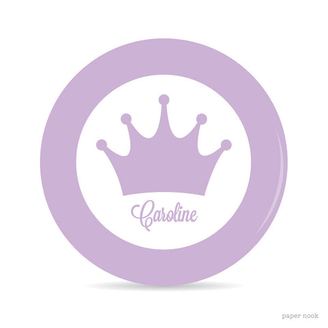 Princess Crown Plate