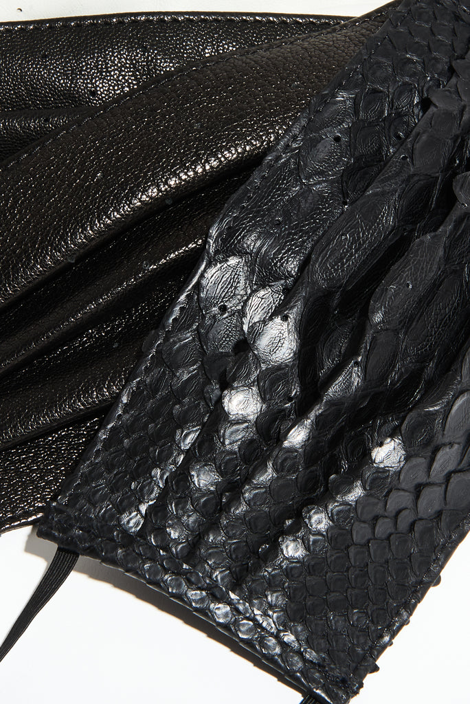 Vegan Python vs. Python - Which Leather is Better?