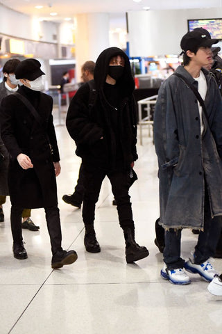 bts airport fashion