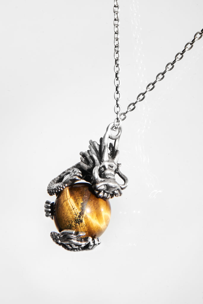 TIGER EYE NECKLACE - AKINGS