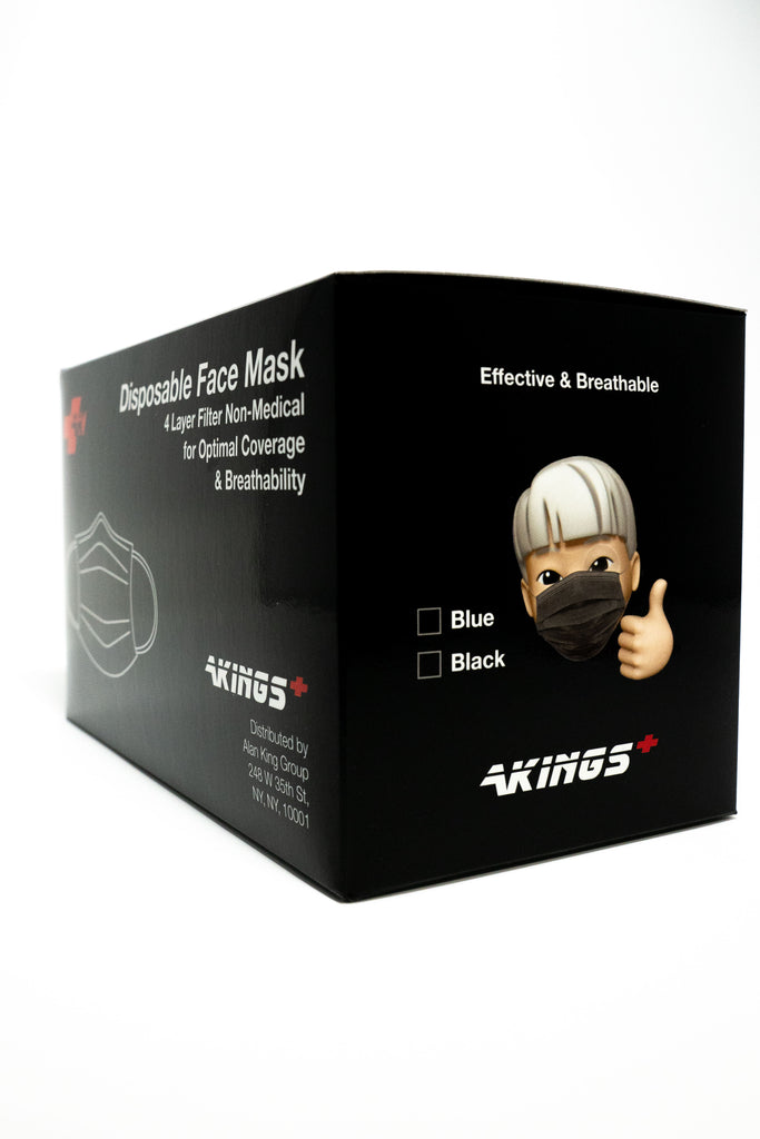 BLACK BOX FOR MASK , SIDE ANGLE 2