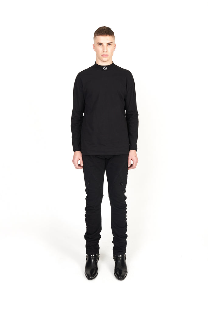 JOSEPH BLACK STACKED JEANS - AKINGS