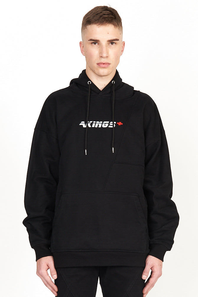 FIRST AID BLACK HOODY