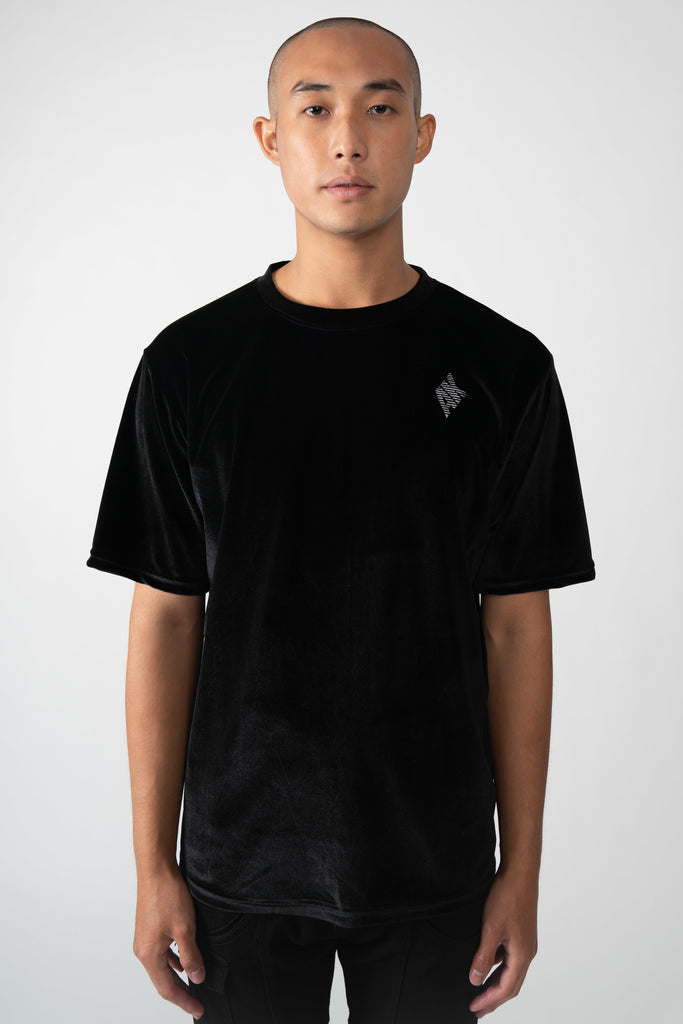 AK VELOUR CROSBY TEE - AKINGS