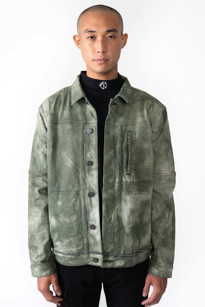 VICTOR GREEN JACKET - AKINGS
