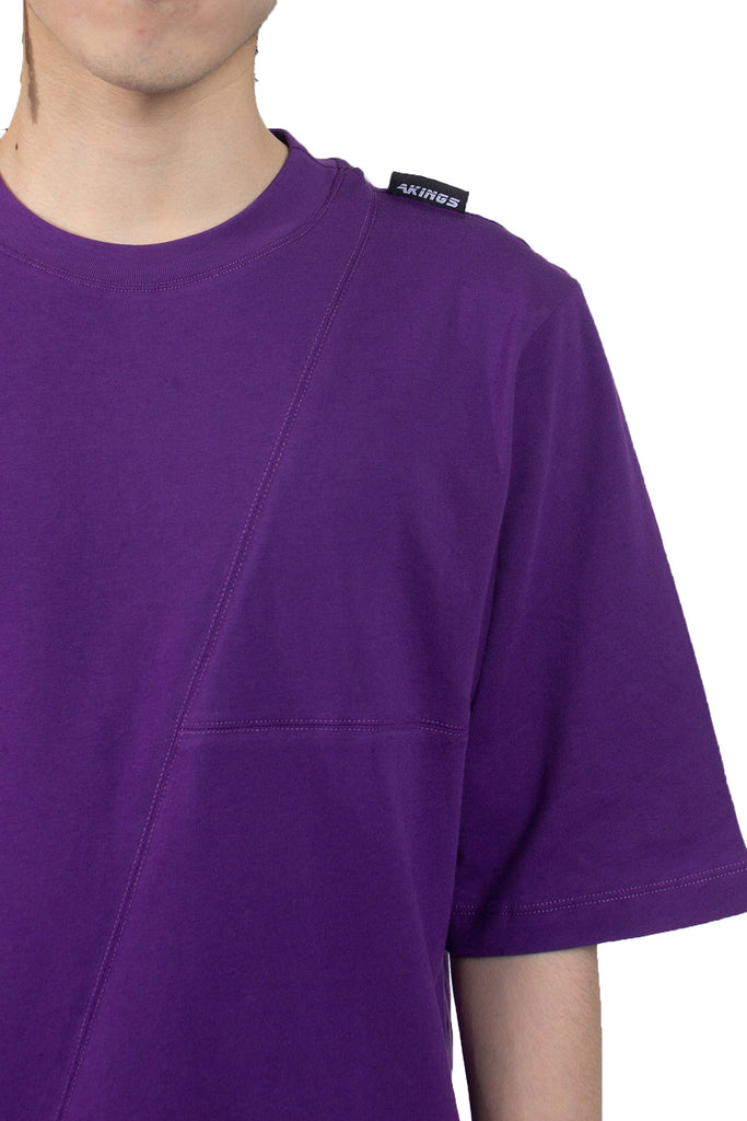 PURPLE TAG TEE DETAIL