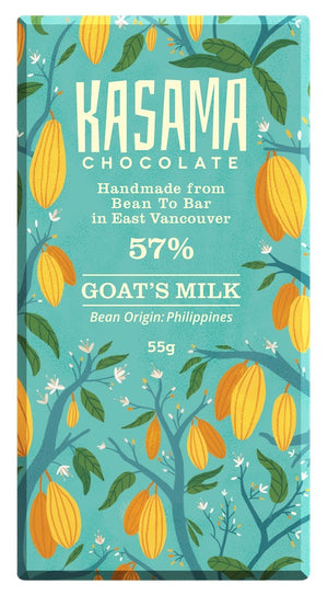 Kasama Chocolate Goat's Milk 57%