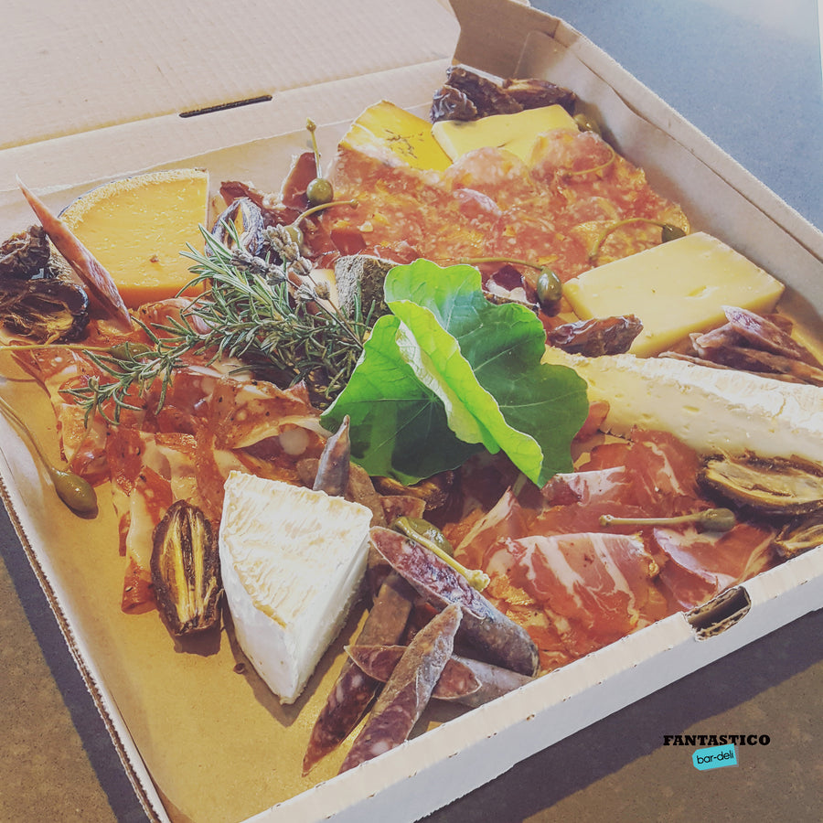 Pizza Box Charcuterie