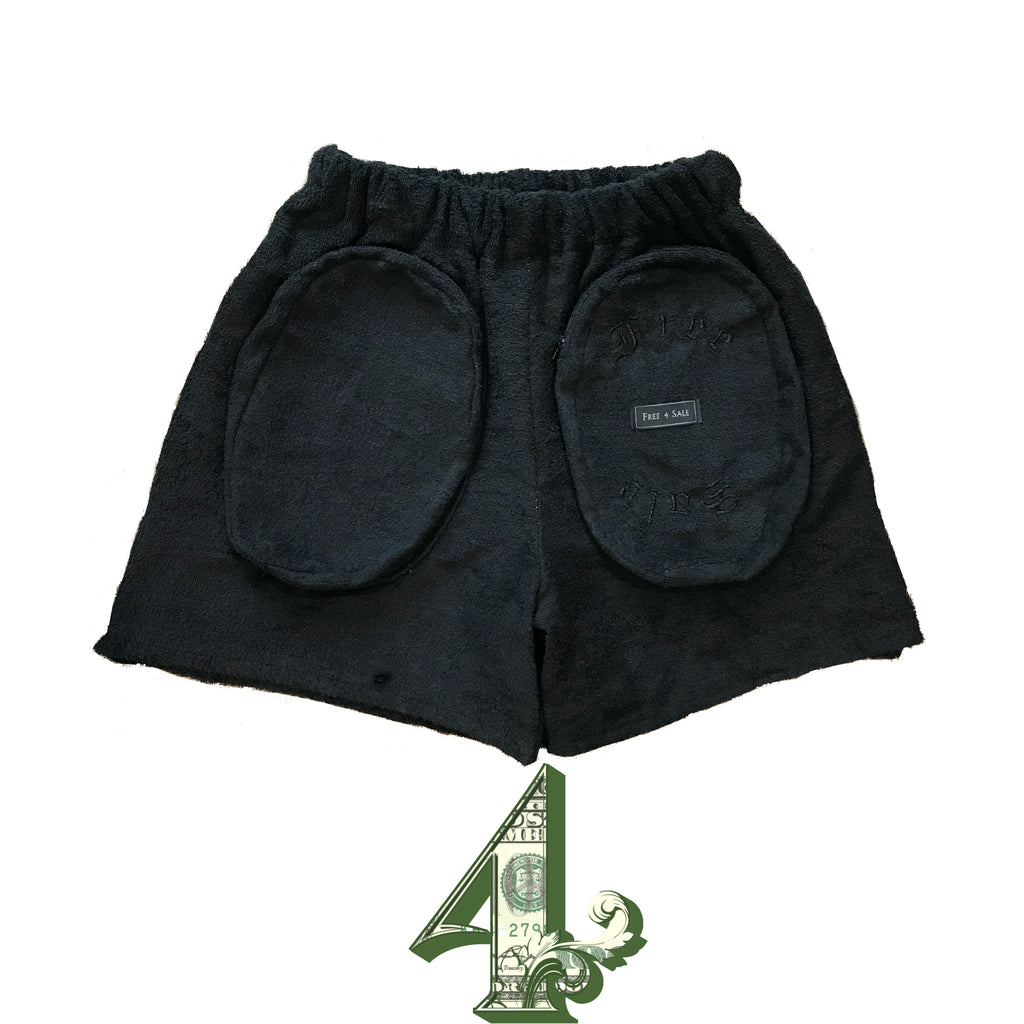 Black Out Terry Cloth Shorts