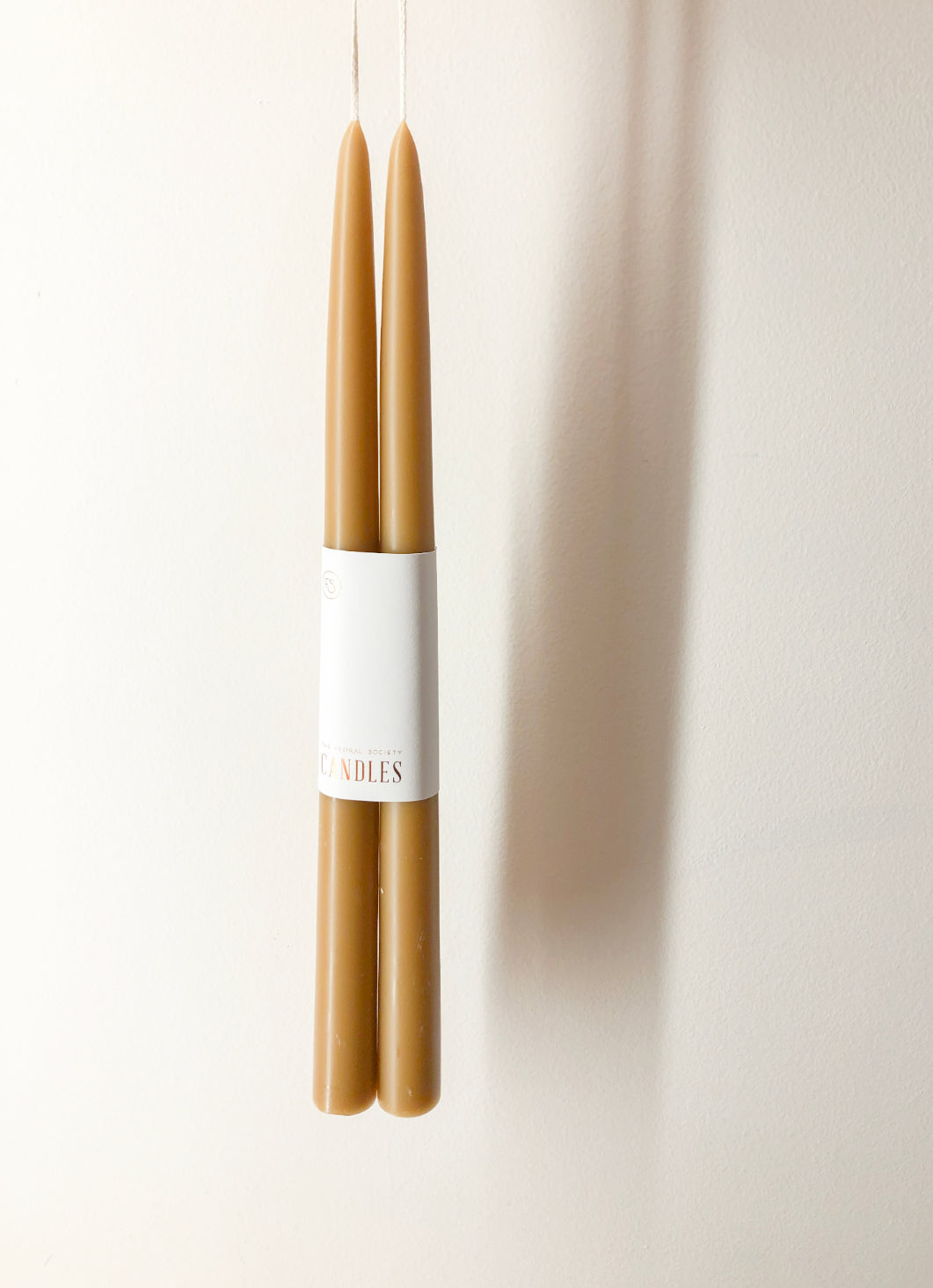 "MIEL 12"" TAPER CANDLE"
