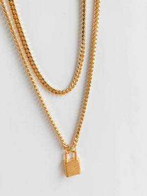 LEO LAYERING NECKLACE