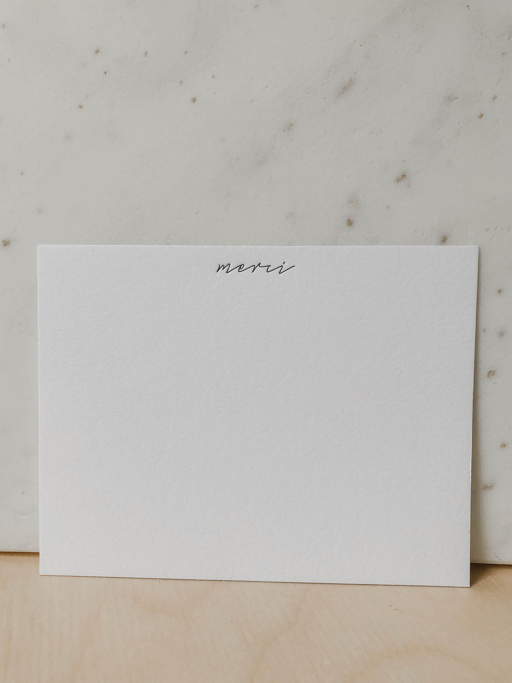 MERCI NOTECARD SET (4556813828199)