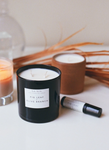 FIG LEAF & OLIVE BRANCH CANDLE
