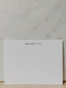 THANK YOU NOTECARD SET (4556829491303)
