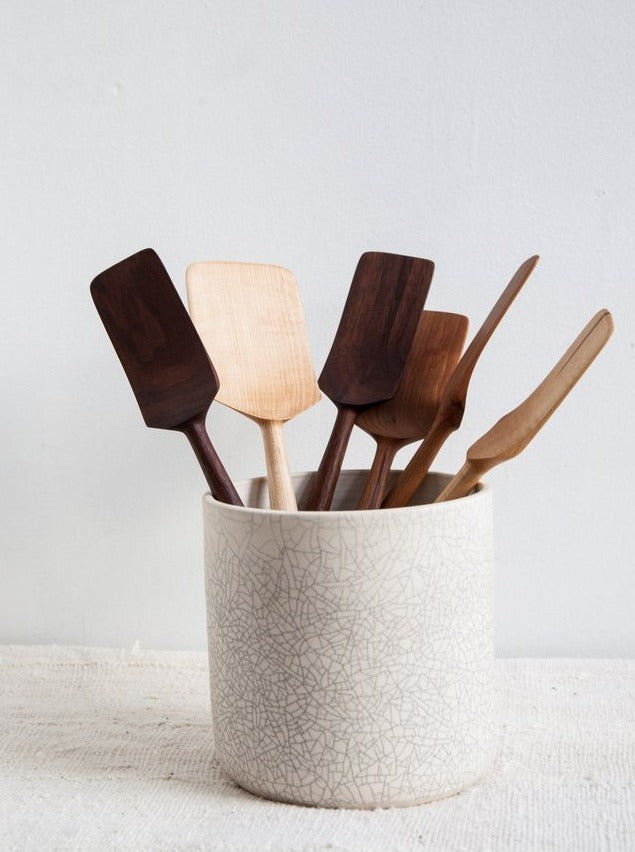 CRACKLE UTENSIL HOLDER (4653573472359)
