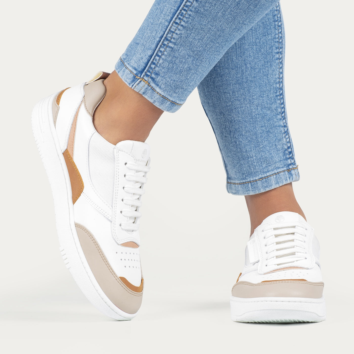 VEGAN LEATHER TRAINERS (4663811506279)