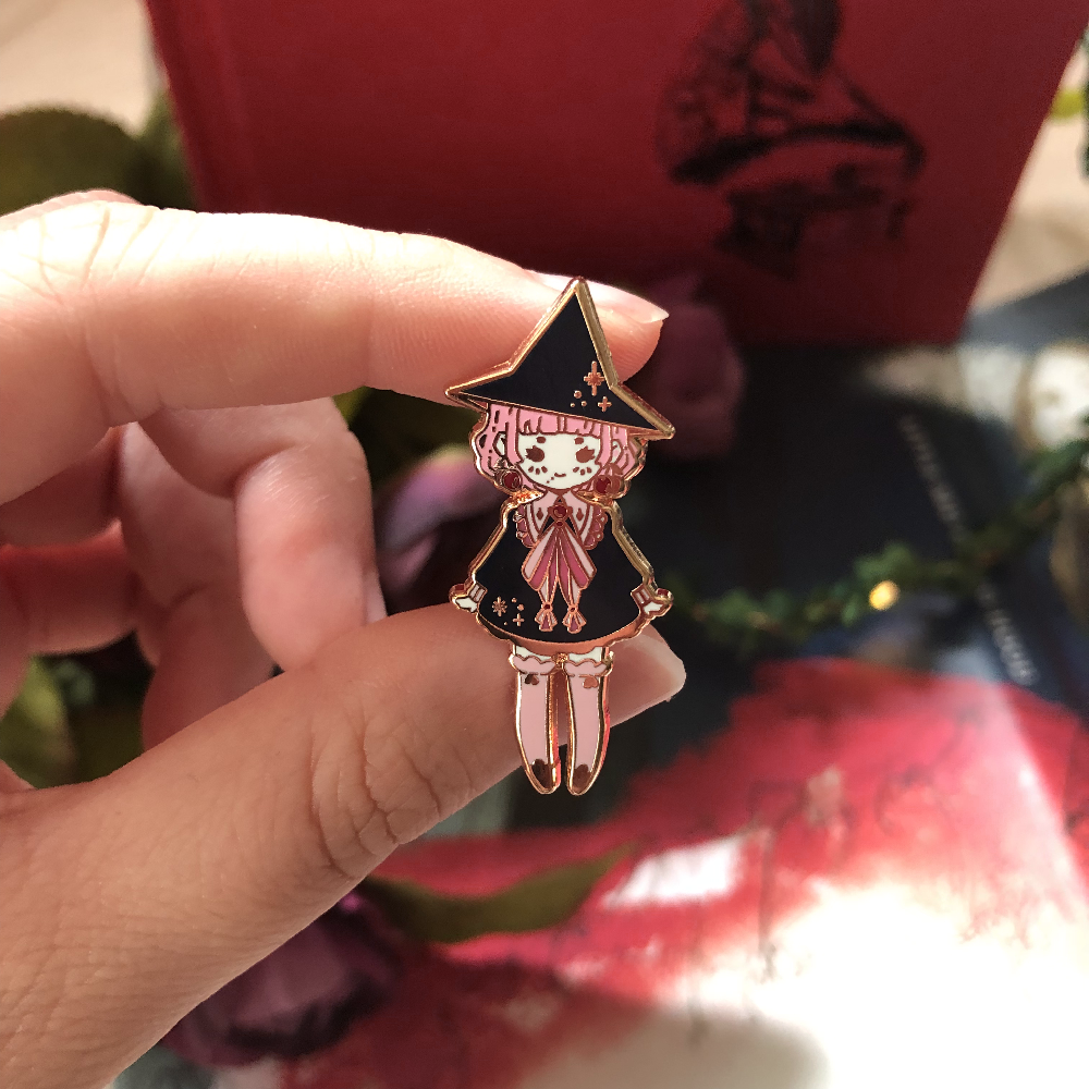 Dream Witch Enamel Pin