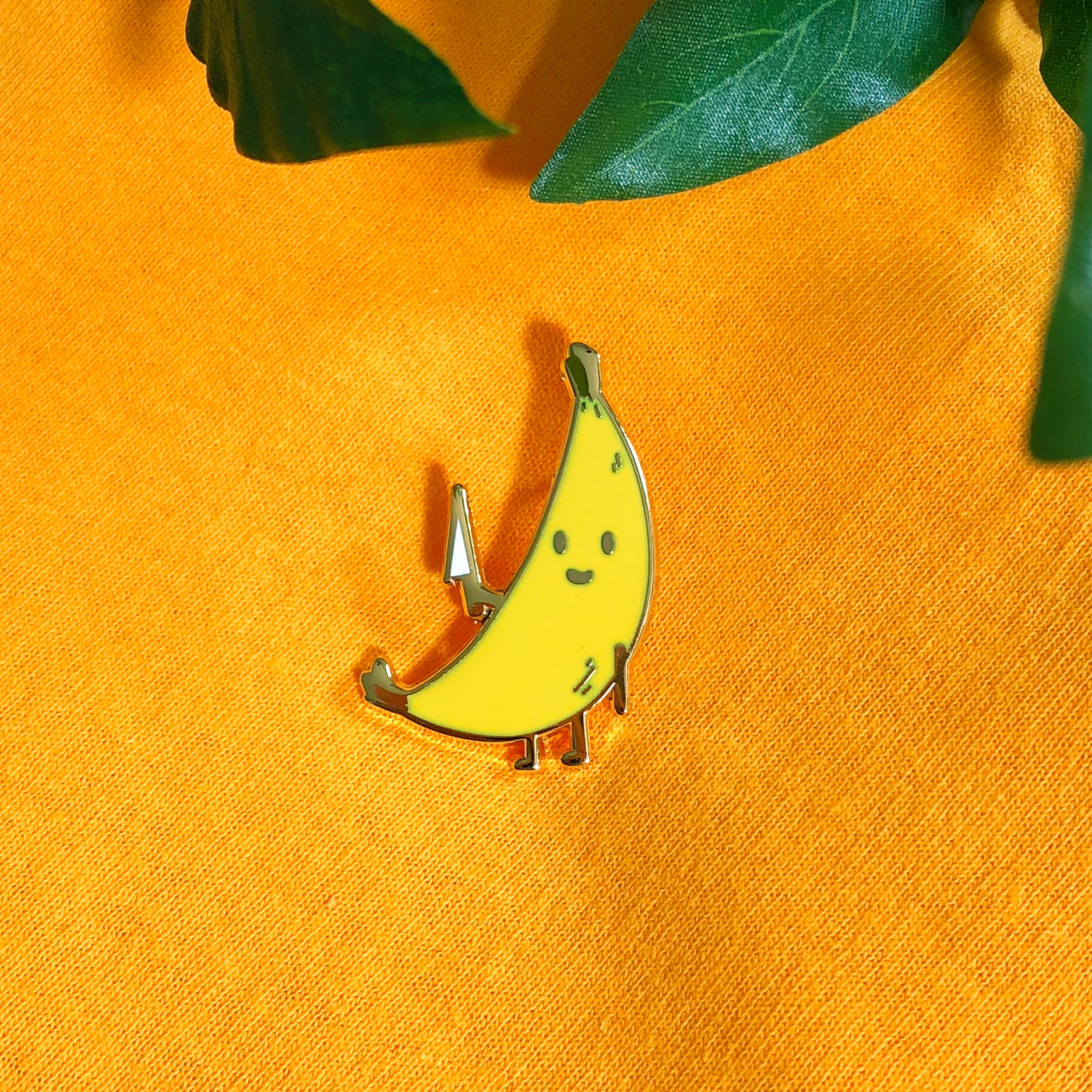 Banana Enamel Pin