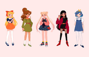 Sailor Senshi Stickers