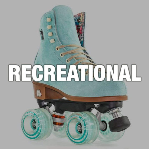 Recreational Roller Skates