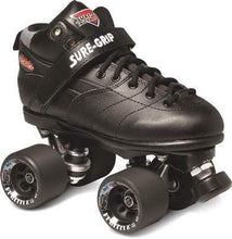 Load image into Gallery viewer, Bladeworx 1 / Black Sure-Grip Rebel Roller Skate : Assorted Colour Options