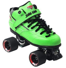 Load image into Gallery viewer, Bladeworx 1 / Green Sure-Grip Rebel Roller Skate : Assorted Colour Options