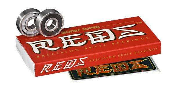 Bones Super Reds Bearings 8 Pack - Bladeworx