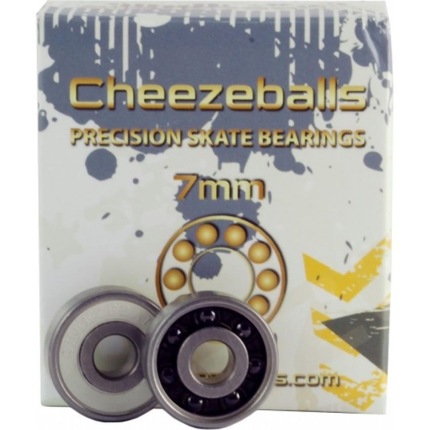 Cheezeballs Swiss Ceramic Bearings 16 Pack - Bladeworx